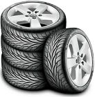 4 New Federal Super Steel 595 245 50R16 98V A S Performance Tires