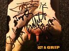 Aerosmith Get A Grip CD Signed By All 5, Steven Tyler, Joe Perry Excellent!!!
