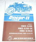 Operation manual for Dnepr (MT-11) in German