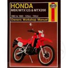 Honda MTX 200 RW 1985-1988 Haynes Service Repair Manual 1132