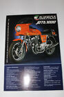 LAVERDA JOTA & 1200TS/MIRAGE factory sales brochure