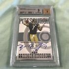 2004 Topps Finest Football #108 Ben Roethlisberger rookie auto BGS 9 Steelers