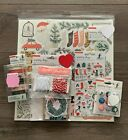 Crate Paper Merry Days Christmas Chipboard Washi Tape + Embellishments