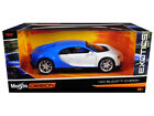Bugatti Chiron Blue White Exotics 1 24 Diecast Model Car by Maisto