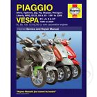 Vespa LX 50 2T 2005 Haynes Service Repair Manual 3492
