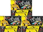 2017 PANINI ABSOLUTE RACING HOBBY BOX LOT OF 3 - 6 AUTOS + 6 MEMS!