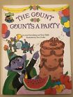 The Count Counts A Party Sesame Street Hardcover Book Club Signed By Authors