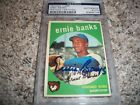 Ernie Banks Cards, Rookie Card and Autographed Memorabilia Guide 28