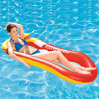 High Quality Outdoor Beach Pool Inflatable Swim Lounge Chair Interactive Fun