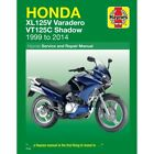 Honda VT 125 C Shadow 2006-2008 Haynes Service Repair Manual 4899