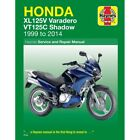 Honda XL 125 V Varadero 2010 Haynes Service Repair Manual 4899