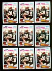 1982 TOPPS #51 ANTHONY MUNOZ RC HOF LOT OF 18 NMMT F142934
