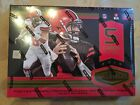 2018 PANINI PLATES AND PATCHES FOOTBALL HOBBY BOX (1 PACK)