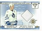 Mats Sundin Cards, Rookie Cards and Autographed Memorabilia Guide 10
