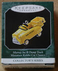 1998 Hallmark Christmas Ornament- Mini Kiddie Car Classics- Murray Dump Truck
