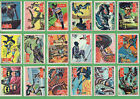1966 Topps Batman A Series Red Bat Trading Cards 12