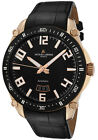 Jacques Lemans Geneve GU333B SWISS MADE Mens Automatic Watch Gold Tone $1595 NEW