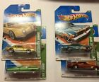 2011 Hot Wheels Treasure Hunts T Bird Studebaker AvantiGTO Riviera