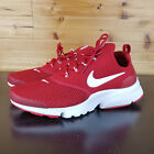 Nike Presto Fly Men Shoes SZ 95 Gym Red White Sneakers 908019 600
