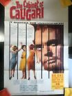 THE CABINET OF DR CALIGARI  ORIGINAL 1962 HORROR MOVIE POSTER 27x41 Horror