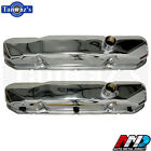 1964 1965 Mopar Big Block Street Wedge CHROME Valve Covers Pair AMD
