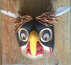 Native Pacific Northwest Kwag Ulth Owl Mask By Jay Brabant