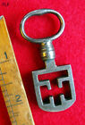 Skeleton Key Rare Steel Antique Old Scottish Latch Key More Exotic Keys Here