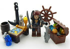 NEW LEGO CAPTAIN JACK SPARROW MINIFIG LOT potc pirates of the caribbean treasure