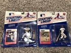 1988  MEL HALL - Starting Lineup - and 1988 JOE CARTER Figurine Set