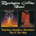 ROSSINGTON BAND COLLINS - ANYTIME,ANYPLACE,ANYWHERE/THIS IS THE WAY 2 CD NEW+