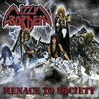 LIZZY BORDEN 'MENACE TO SOCIETY' CD RE-ISSUE NEW+