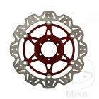 EBC Front Brake Disc Vee Rotor Red Moto Guzzi V11 1100 ie Sport Cafe 2004