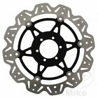 EBC Front Brake Disc Vee Rotor Black Laverda Ghost 650 Legend 1996-1997
