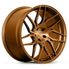 20 ROHANA RFX7 BRONZE FORGED CONCAVE WHEELS RIMS FITS INFINITI G35 COUPE