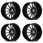 20 SAVINI BM16 CONCAVE GLOSS BLACK WHEELS RIMS FITS LEXUS GS350 GS450H