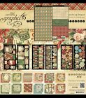 Graphic 45 12 Days Of Christmas 12 X12 Paper Die Cuts Pockets Rare
