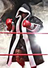 SP-BR-BLK: Black Boxing Robe for 1 12 Storm Collectible Mike Tyson (No Figure)