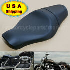 Motorcycle Driver Passenger Two Up Seat for Harley Davidson Sportster 883 1200