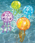 3 PC Inflatable Jellyfish Swimming Pool Floating LED Lights Party Decor