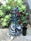 105 Best Soft Glass Water Bong Glass Stem with Bowl Pop Top Cont Grinder