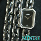 [CHANEL] Premiere Triple Breath Women''s Watch Diamond Bezel Quartz H3058 Black