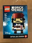 LEGO Brick Headz Captain Jack Sparrow #41593 109 Pcs