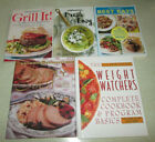Lot 5 WEIGHT WATCHERS COOKBOOKS Program Basics Simply BEST Fresh Easy Recipes