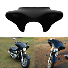 ABS Black Front Outer Batwing Fairing Fit For Harley Road King Street Glide Dyna