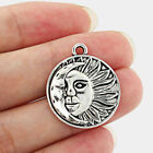 925 Sterling silver 20 Necklace MOON SUN pendant charm female men FREE GIFT BOX