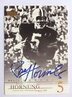 2001 PAUL HORNUNG UPPER DECK FOOTBALL NFL LEGENDS AUTOGRAPH SIGNATURE CARD