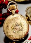 ILLINOIS TIME KING GOLD POCKET WATCH | 14K MULTICOLOR GOLD, 18 SIZE HUNTER CASE