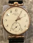 Historic Patek Phillippe 18k Gold Watch w/ Archive Retailed By Tiffany