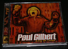 Paul Gilbert King Of Clubs Audio CD 1998 Vg+ Out Of Print