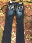 NWT Womens HYDRAULIC Juniors LOLA Micro Boot Blue Jeans Mult Szs Till Gone